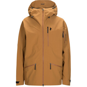 Peak Performance Radical Jacket Herre Honey Brown